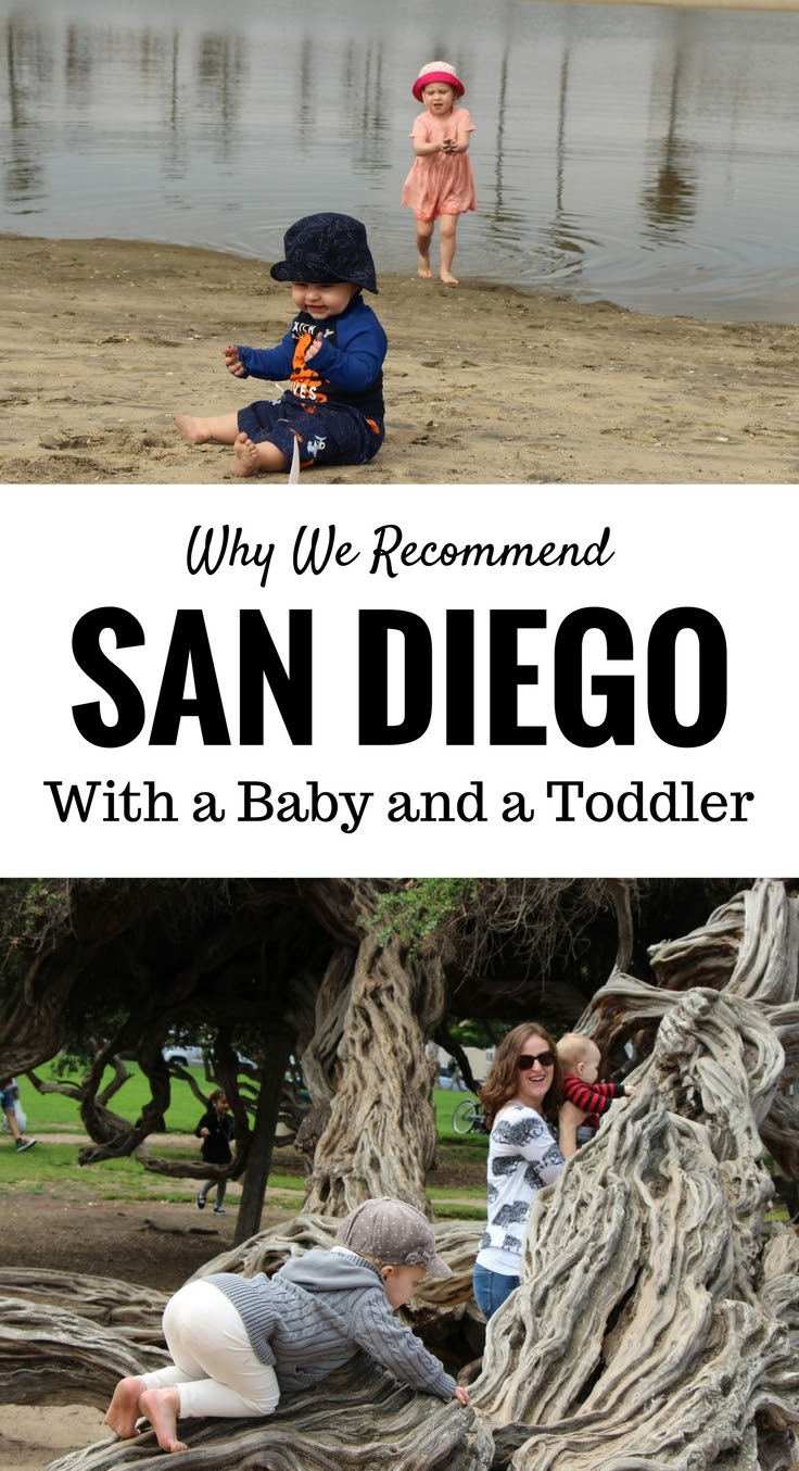 San Diego With a Baby and a Toddler. San Diego is a near-perfect family destination for travel with a baby and a toddler. Here is why we recommend it. Read more at www.BabyCanTravel.com/Blog #babytravel #toddlertravel #familytravel #sandiego #california