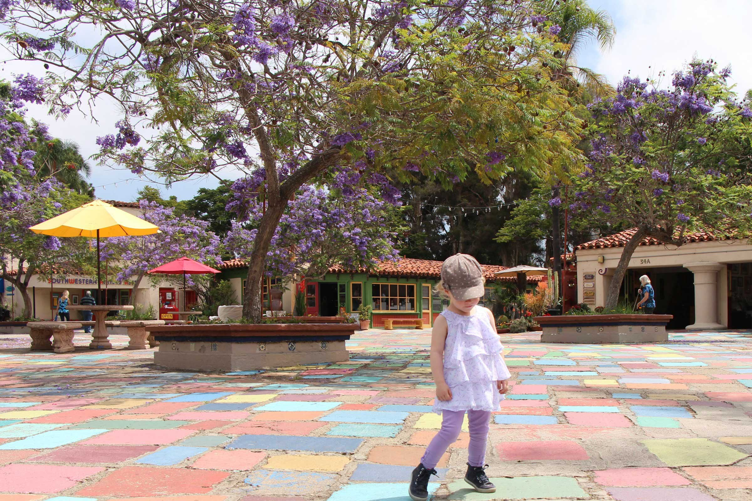 Spanish Art Village Balboa Park San Diego