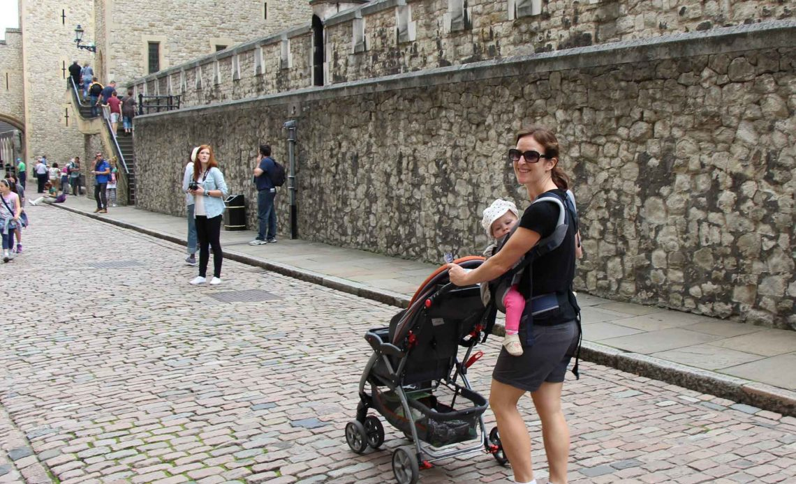 Stroller or Baby Carrier for Travel with a baby