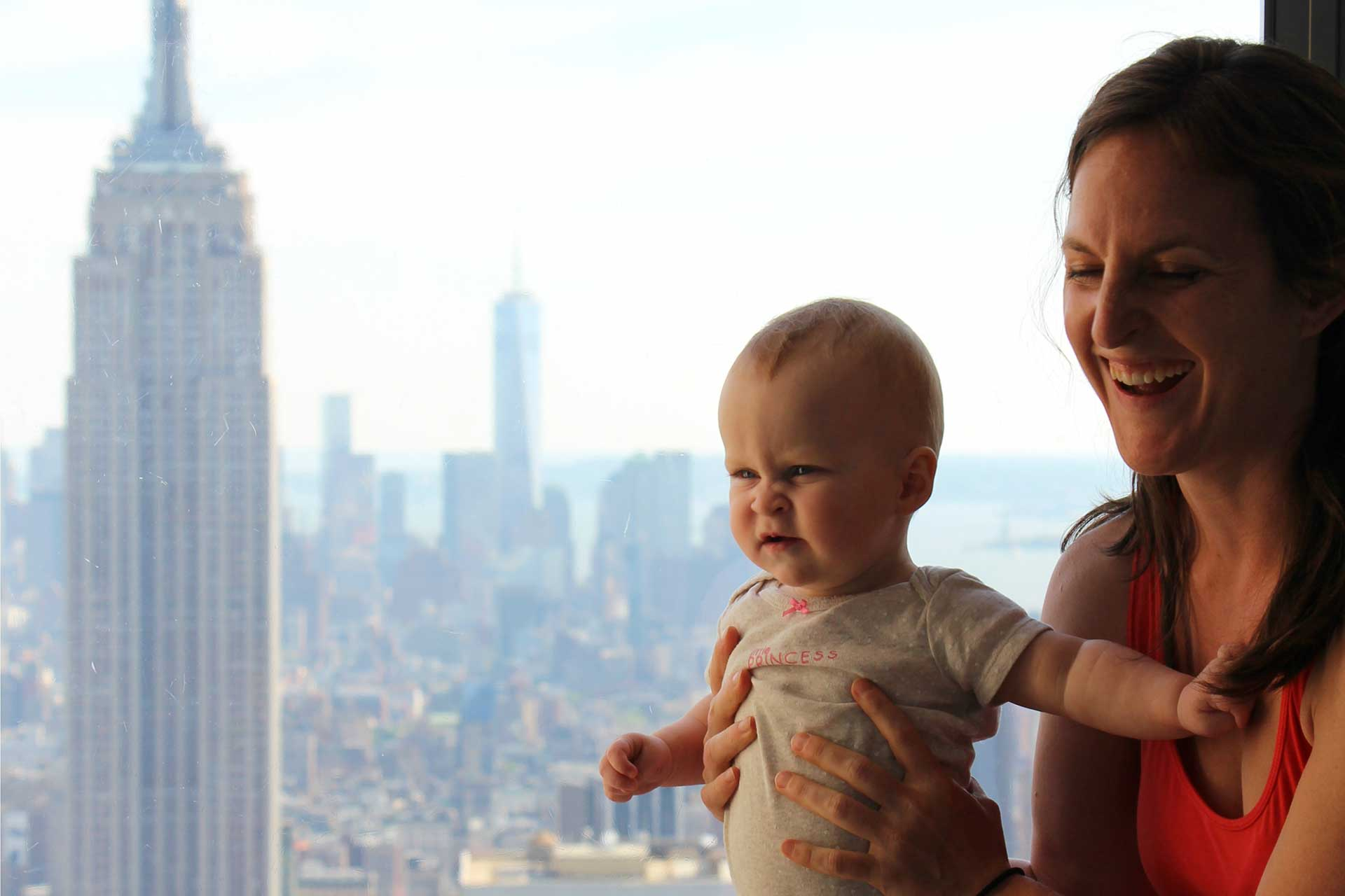 Top of the Rock NYC With Baby 2