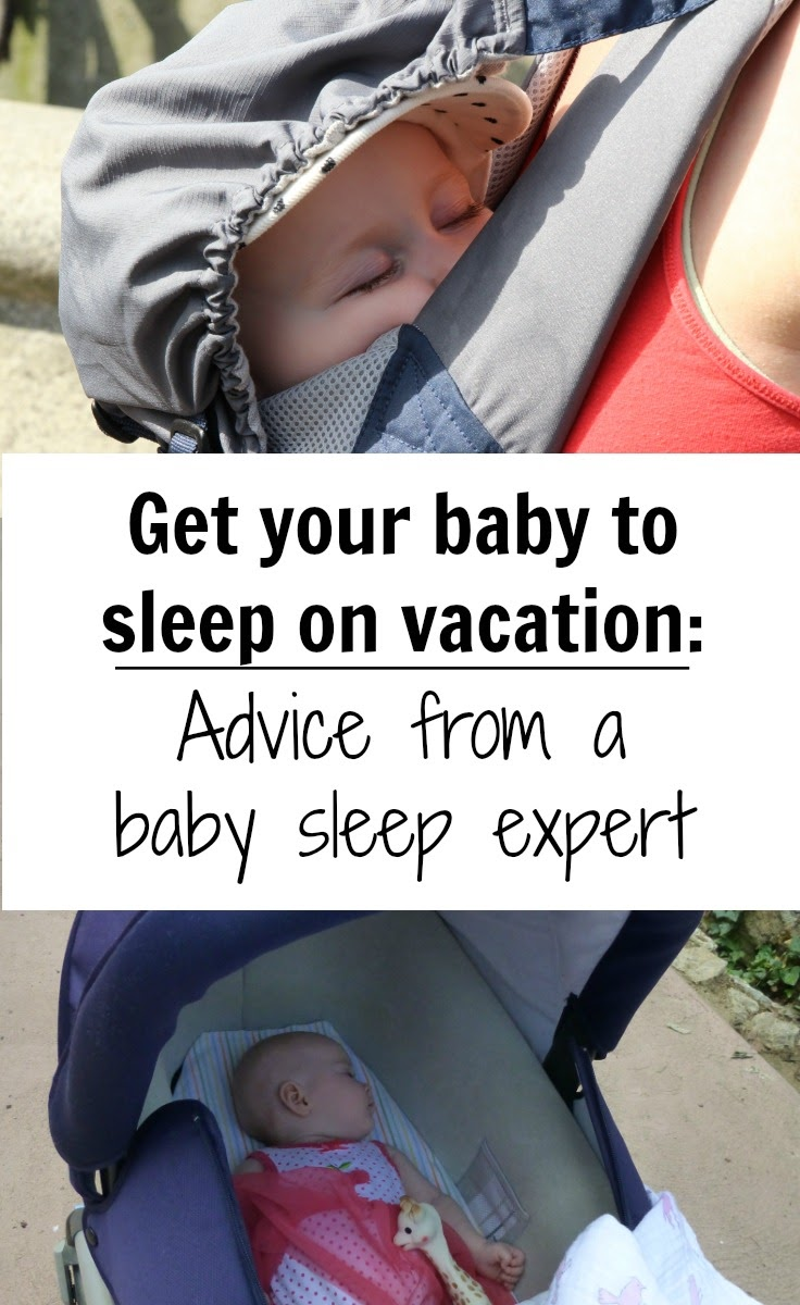 How to ensure your baby will sleep on vacation? We get your biggest questions answered from a sleep expert. Read more at www.babycantravel.com/blog. #babysleep #babytravel #sleepadvice