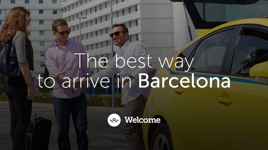 Welcome Pickups private transport from the Barcelona Airport to your hotel. The driver meets you at the gate. Baby car seats are complimentary