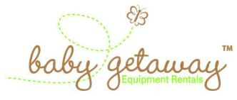 Baby Getaway Baby GoLightly Baby Equipment Rental