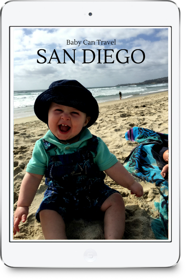 Free guide on San Diego with a baby or toddler