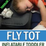 Fly Tot Inflatable Airplane Travel Bed for Toddlers