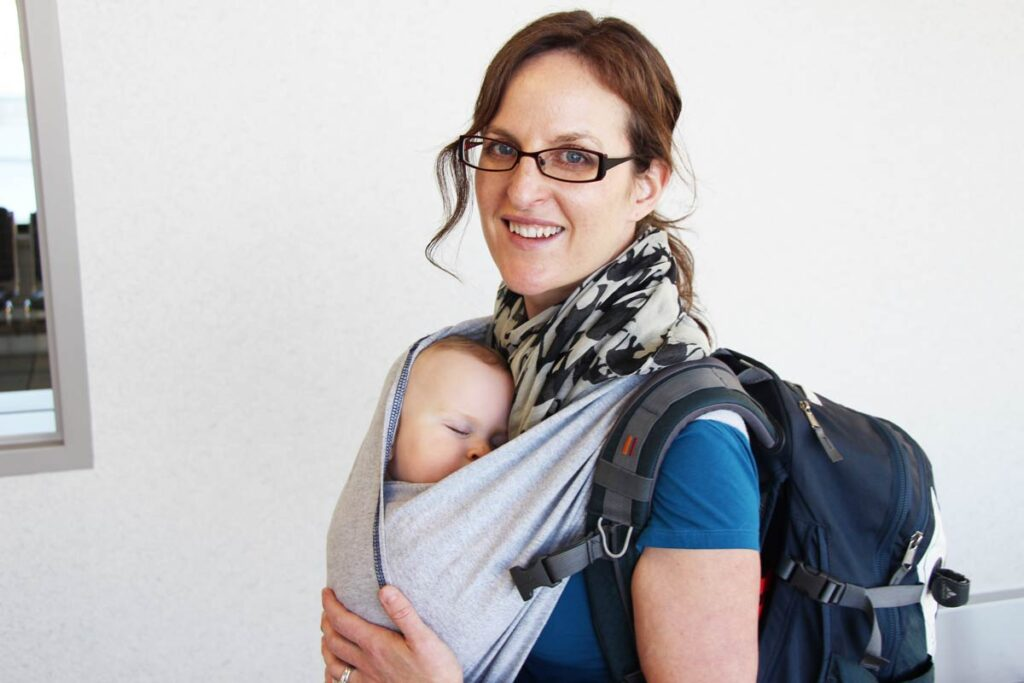 must have baby travel items - baby carrier