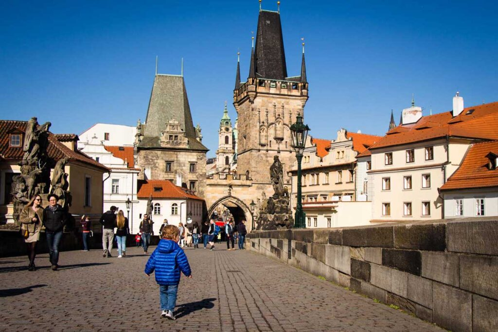 travel with a potty training toddler in prague