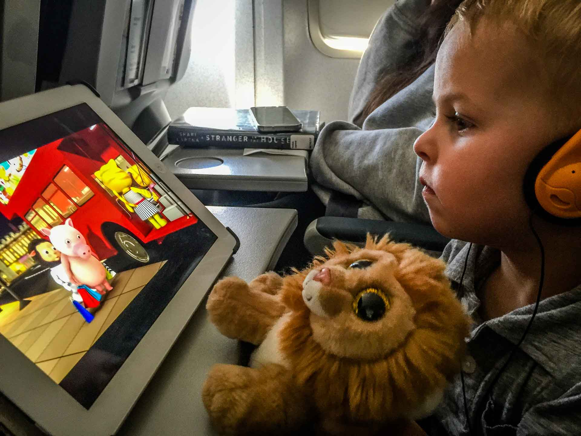 Flying with potty training toddler