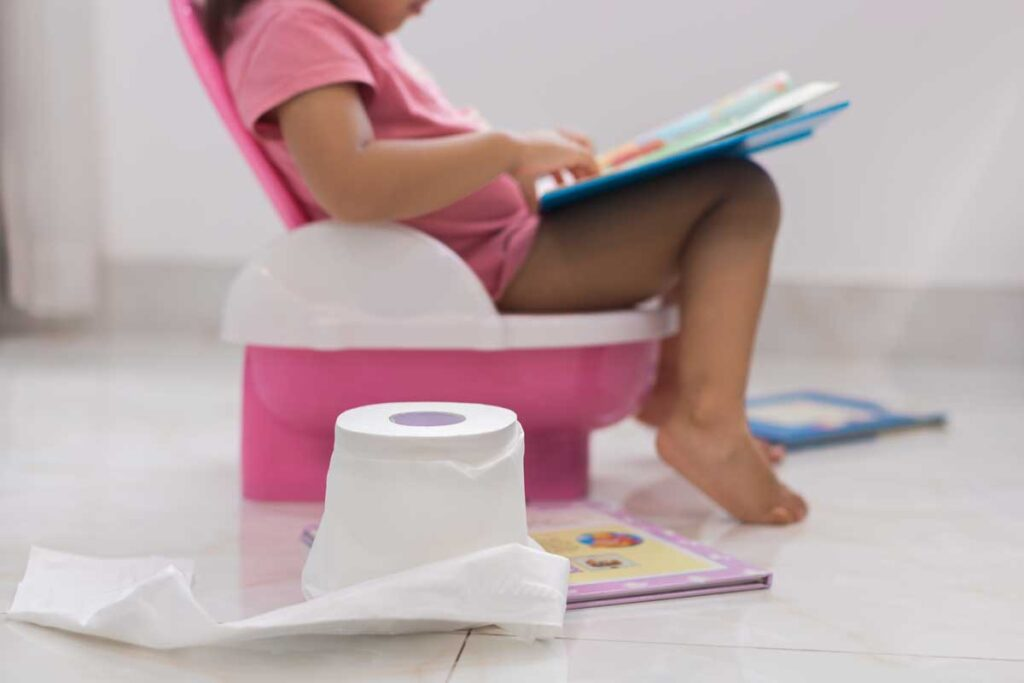 travel with potty training toddler