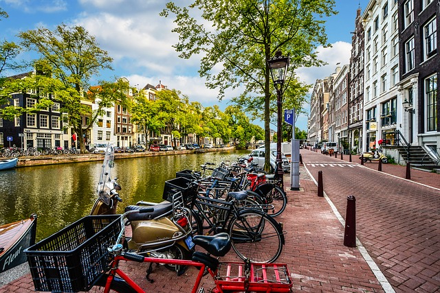 Amsterdam with toddlers or babies