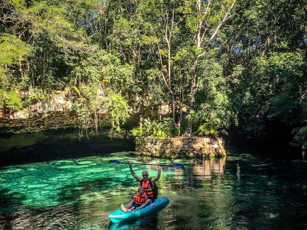 Best cenotes with babies and toddlers in Mexico