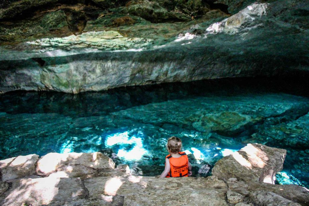 Best cenotes with toddlers and babies in Mexico