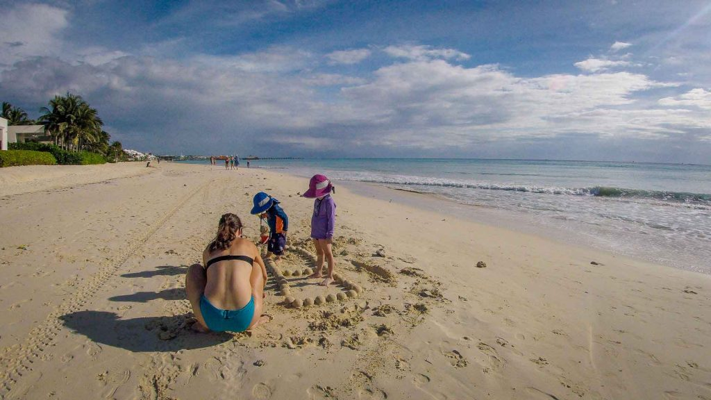 Beaches in Mexico for babies & toddlers