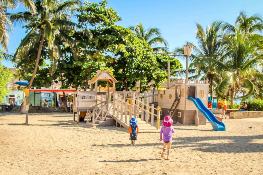 Playground in Playa del Carmen