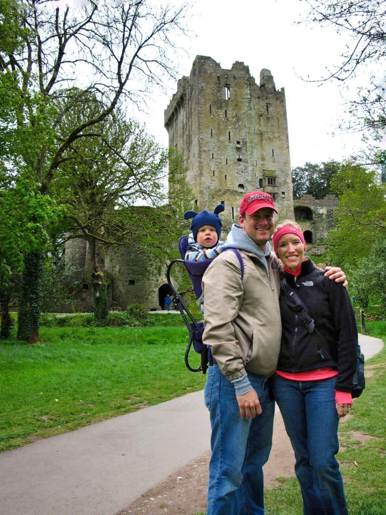 Ireland with toddler or baby - Blarney Castle