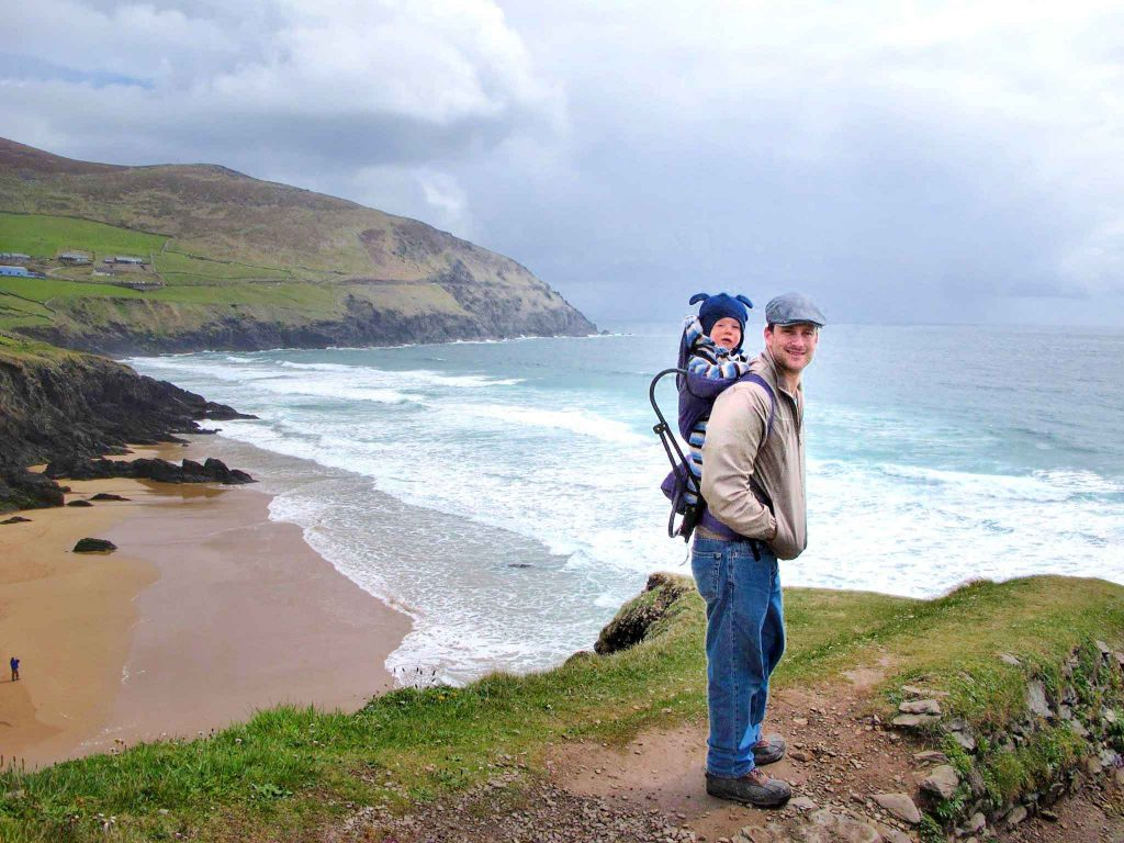 Ireland with toddler or baby - Dingle Peninsula