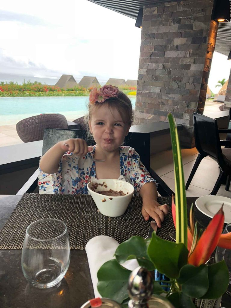 Fiji all inclusive resort with toddler