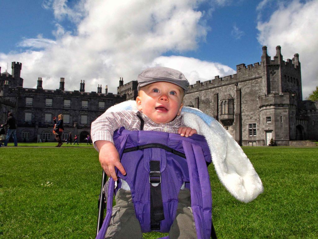 Ireland with toddler or baby - Kilkenny Castle