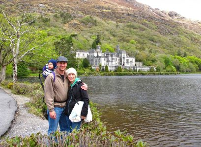 Ireland with toddler or baby - Kylemore Abbey