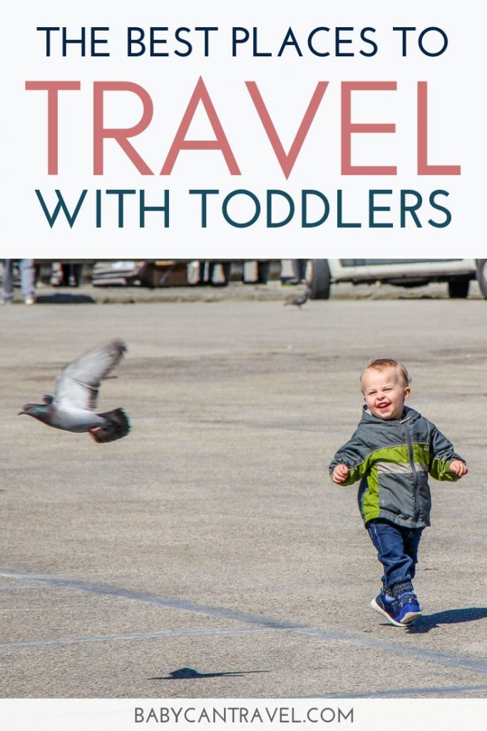 Fun vacations with toddlers do exist! Choose from this list of best vacation destinations with toddlers for your next family holiday! These are the best places to go with toddlers recommended by fellow parents. #toddlertravel #travelwithkids #placestotravel #disneywithtoddler #familytravel