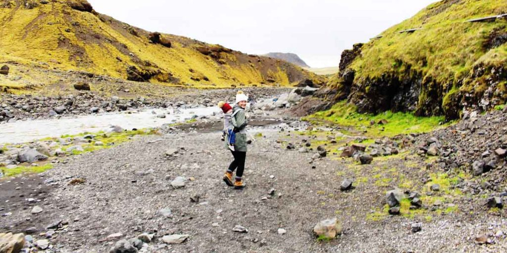 Iceland with toddler - best destinations with a toddler