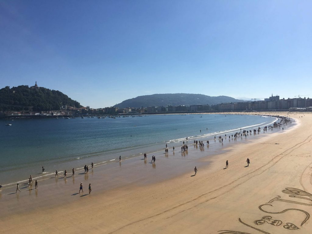 San Sebastian Spain with Toddler - best vacation destinations with toddlers