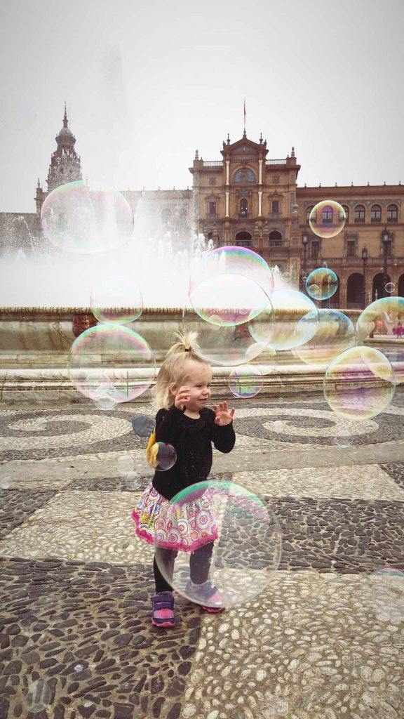 Spain with toddler - best international places to travel with toddlers