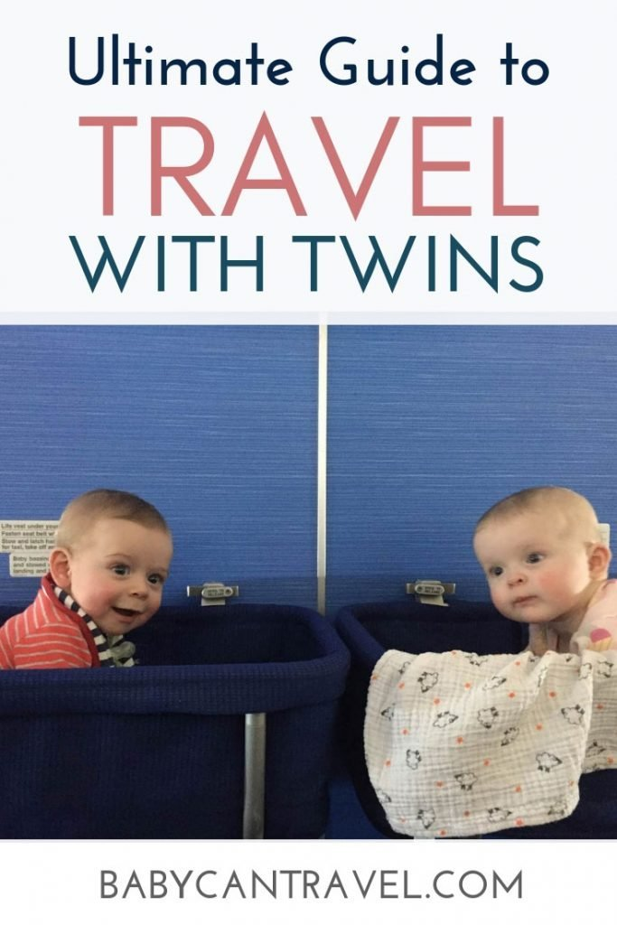 Ultimate Guide to Travel with Twins - this post has everything you need to know from flying with twins, traveling and flying alone with twins, the best baby gear for travel with twins and even travel while pregnant with twins! #twintravel #travelwithtwins #travelingwithtwins #babytravel #toddlertravel #twintraveltips