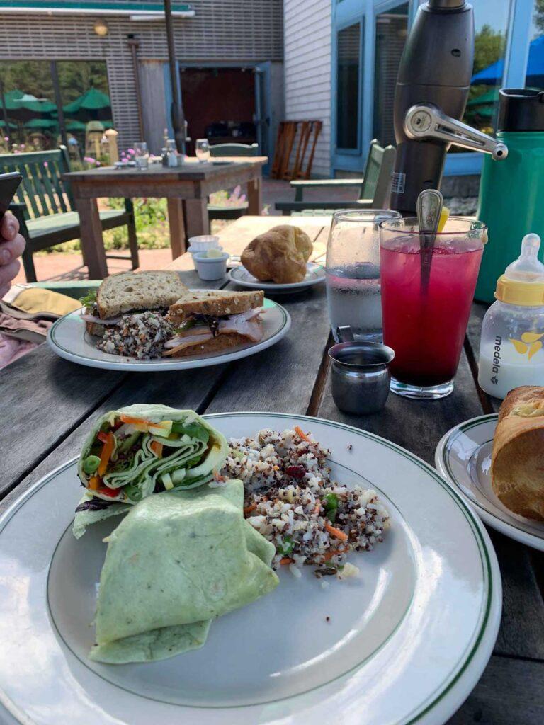 Jordan Pond Food in Acadia NP
