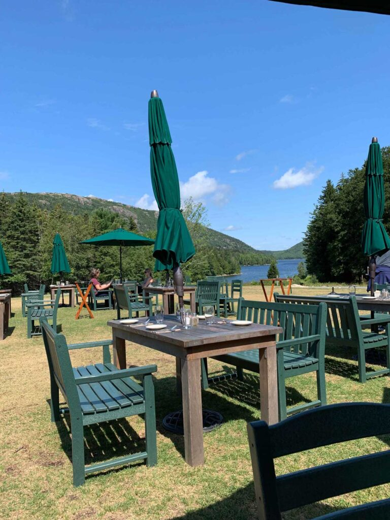 Jordan Pond Acadia National Park restaurant