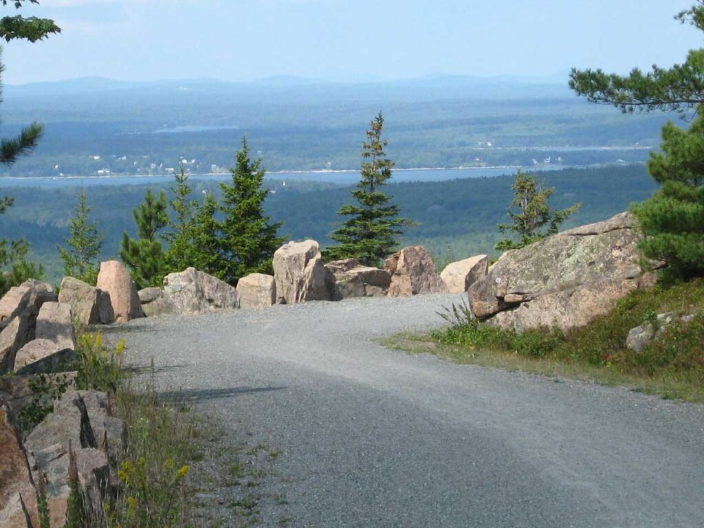 Carriage Roads in Acadia NP