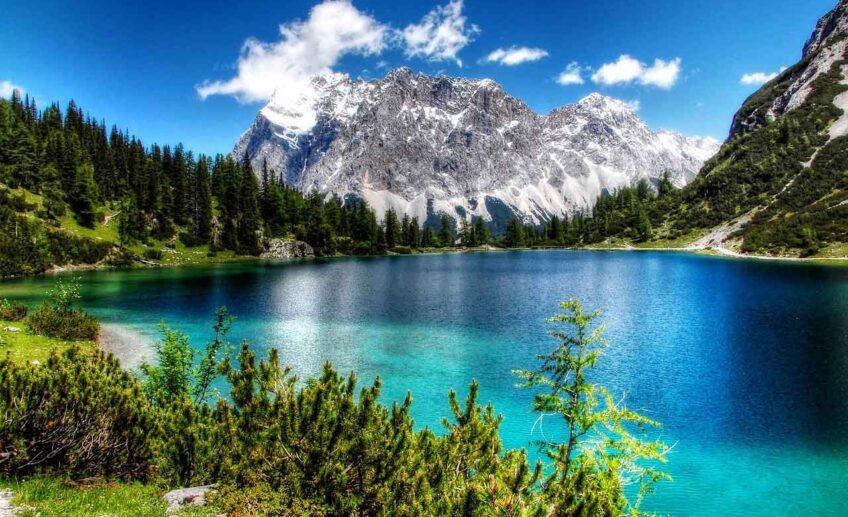 Bavarian Alps Germany