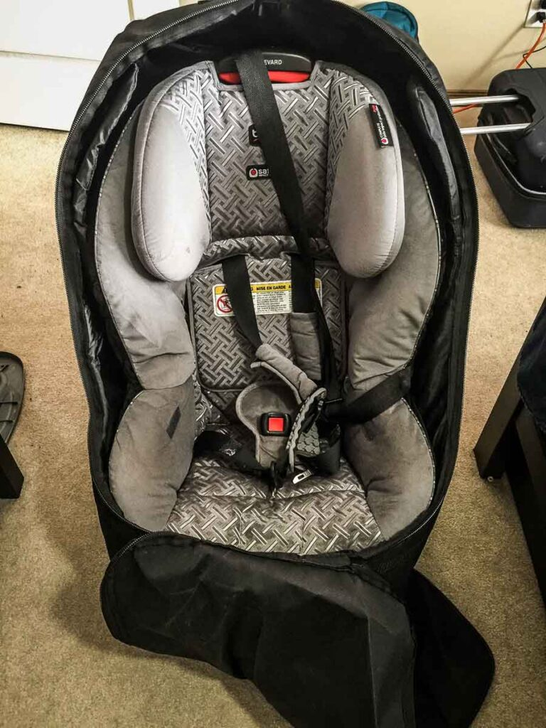 best car seat travel bag
