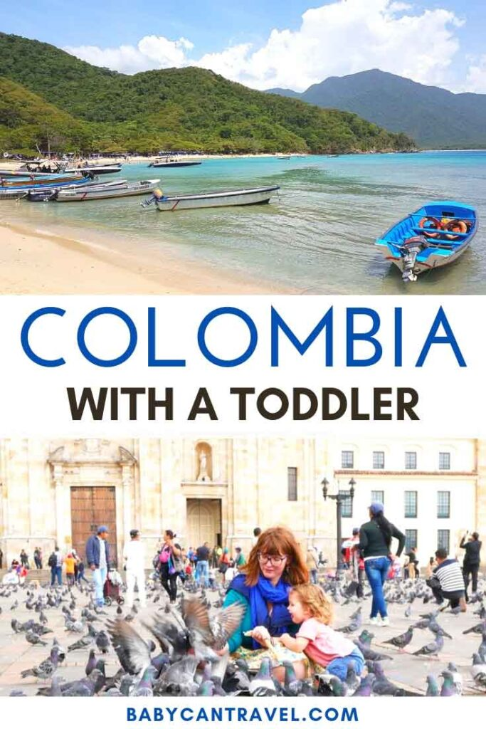 Looking for mix of natural beauty, mesmerizing archaeology and charming colonial towns? You'll find it all in Colombia! Click to read all about taking a baby, toddler or kids to Colombia!