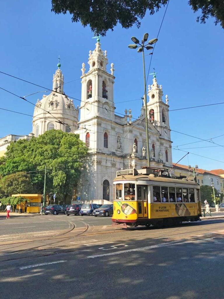 28 tram lisbon route