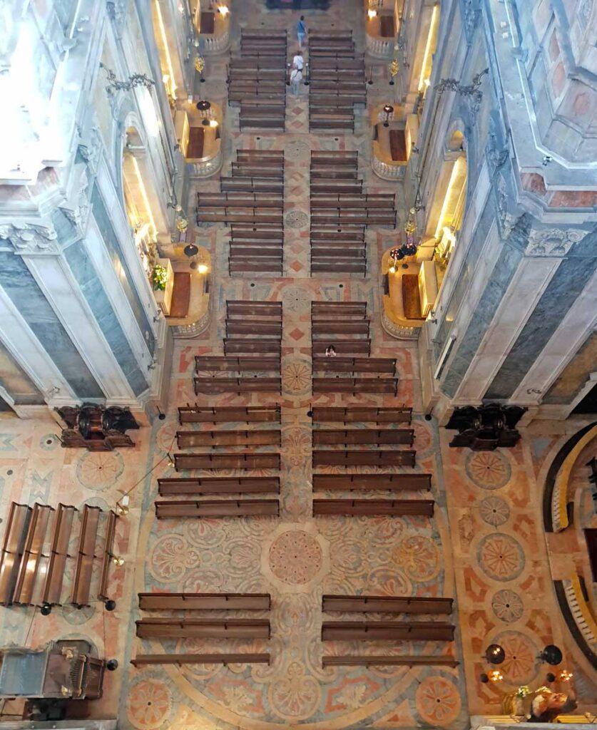 Estrela Basilica in Lisbon Portugal