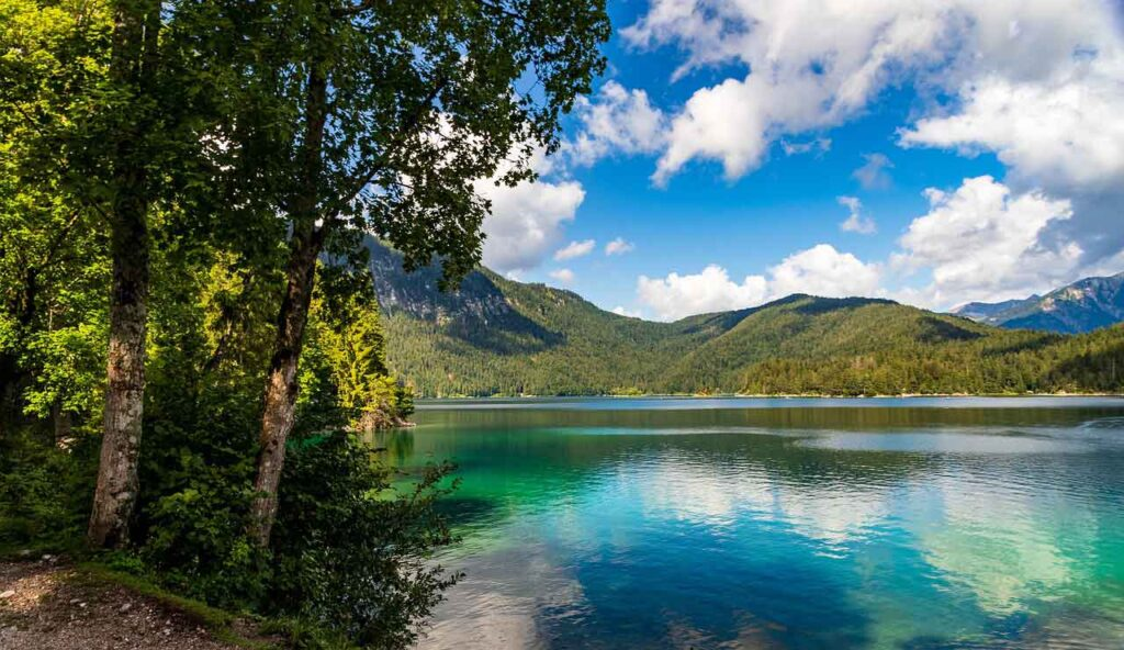 image of bavarian lake