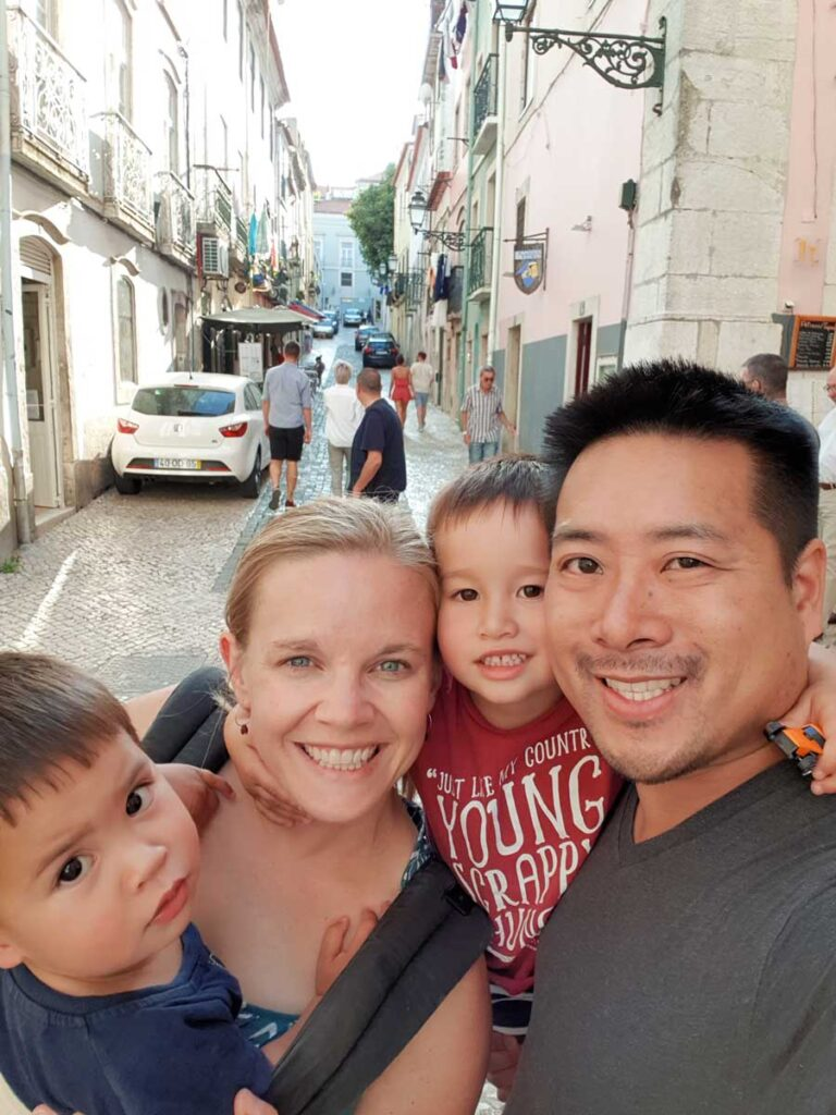 family holiday in Portugal