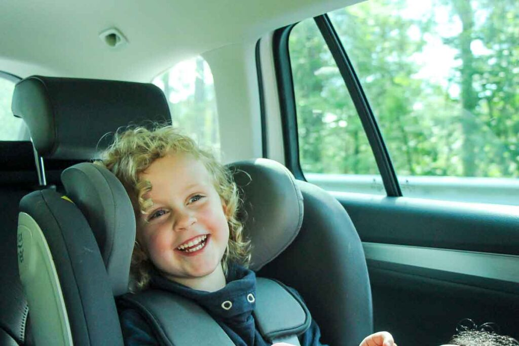 travel with child car seat