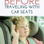 traveling with car seats