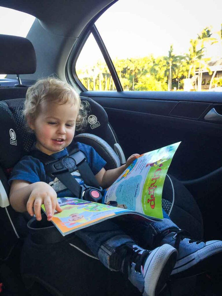 travel with car seats for babies and toddlers
