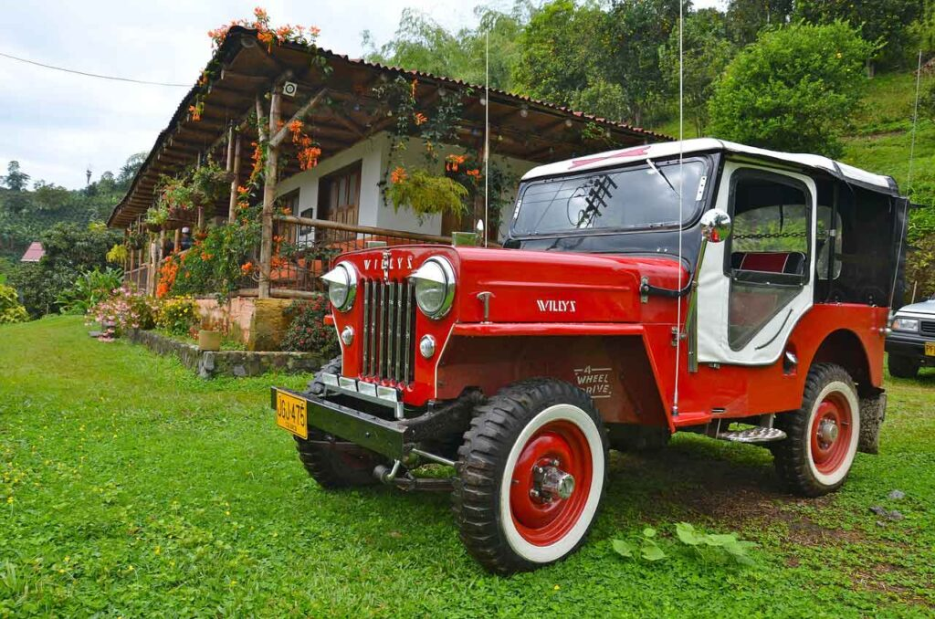 Willys Jeeps in Colombia