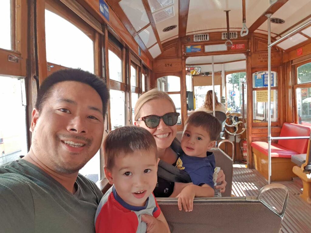 family vacation in lisbon