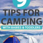 camping with a baby or toddler