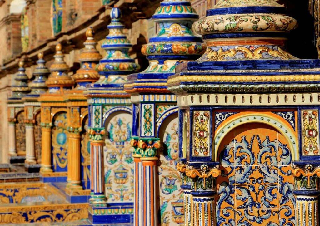 image of tile seville spain