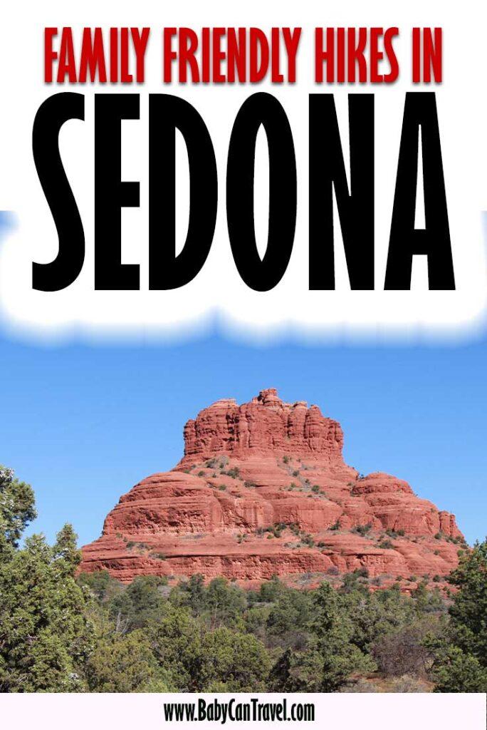 family hikes in Sedona