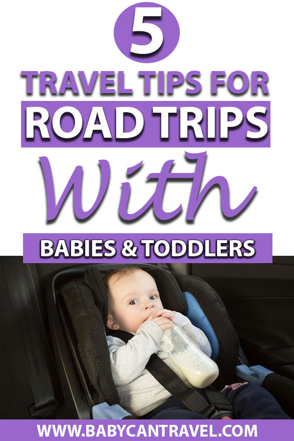 road trips with babies and toddlers