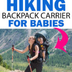 Travel with a Hiking Backpack Carrier for Babies and Toddlers