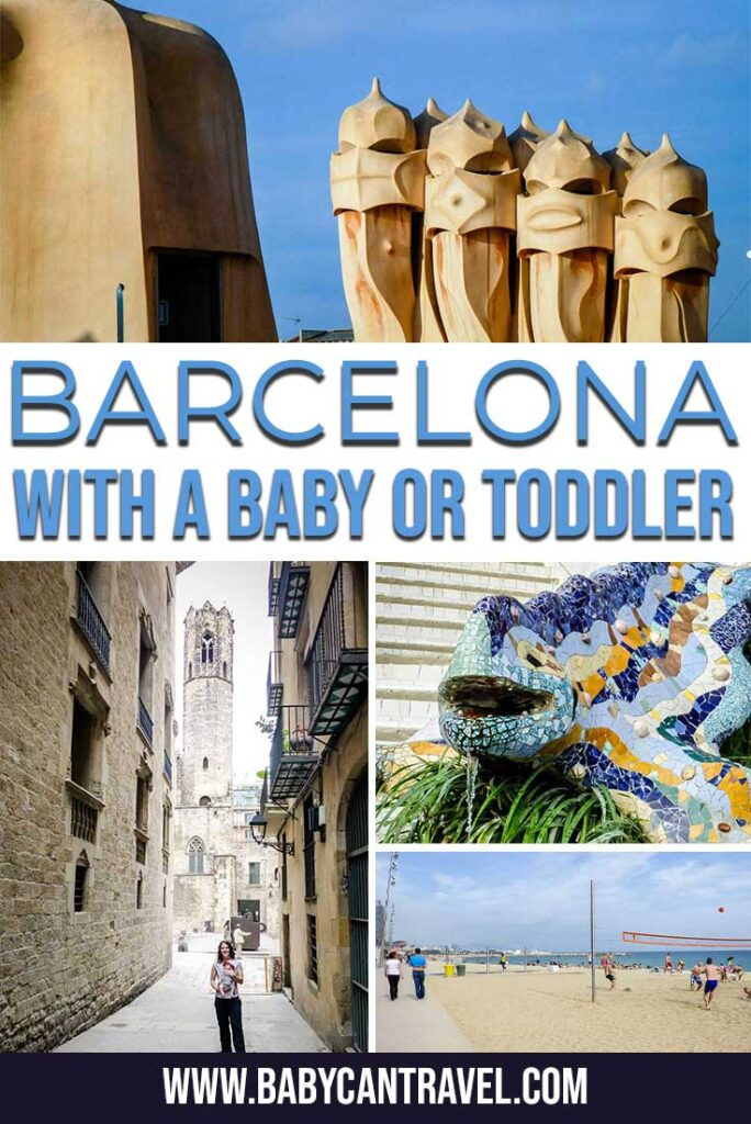 Barcelona with a baby or toddler