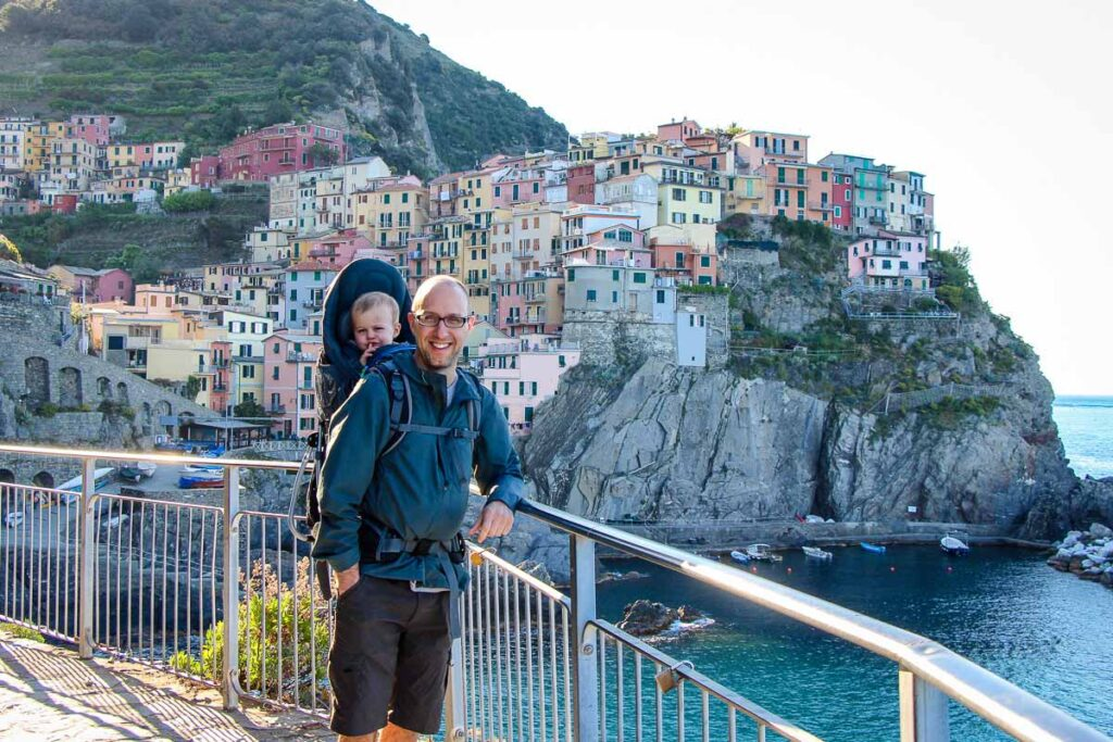 best hikes with toddlers in CInque Terre Italy